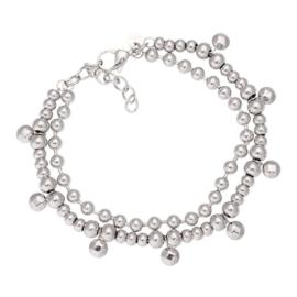 IXXXI armband dazzling circles zilver