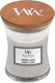 mini  candle lavender & cedar