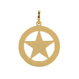 ixxxi hanger  goud met gouden ster