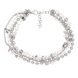 IXXXI armband Arrow chain zilver
