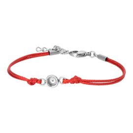 IXXXI armband Wax cord top part base rood