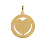 ixxxi hanger goud met gouden hart