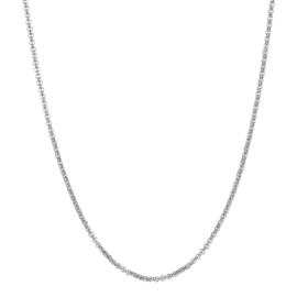 ixxxi collier zilver 80 cm