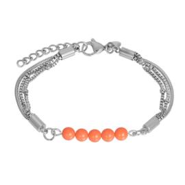 Bracelet fantasy zilver