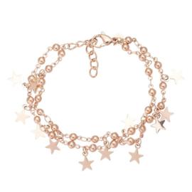 IXXXI armband Dazzling stars rose