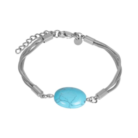 Bracelet summer zilver