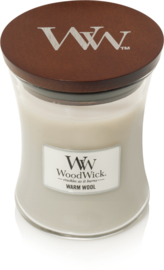 medium candle warm wool