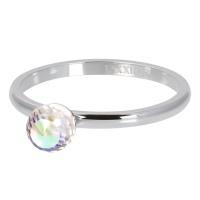 ixxxi christal glass ball AB zilver