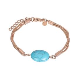 Bracelet summer rose