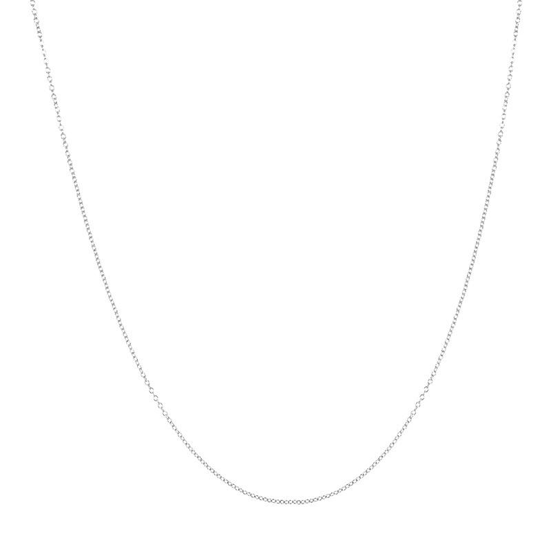 ixxxi collier zilver 1 mm 50 cm