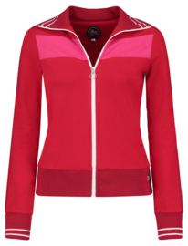 Tante Betsy Sporty Jacket Solid Rood