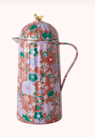Rice Stainless Thermos kan Fall Floral print