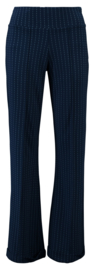 Tante Betsy Ultra Wide Pants Pinstripe Ink