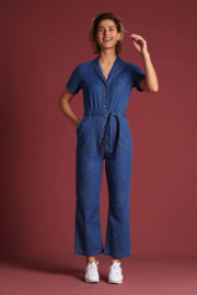 King Louie Gracie Jumpsuit Chambray