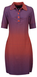 Tante Betsy  Dress Kyra Disco Dots Orange