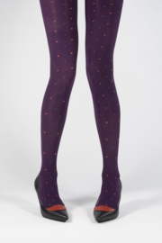 Margot Tights Purple Royal Love