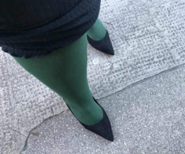 Snag Tights Hit the Bottle Green