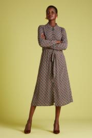 King Louie Olive Midi dress Palmer