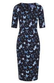 Collectif Amber Ladybird Pencil Dress