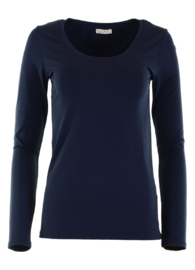 Basic top Toscane Navy