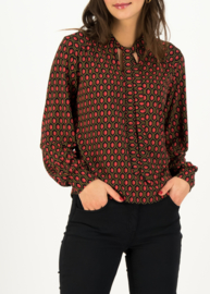 Blutsgeschwister Helma Ruby Red Blouse
