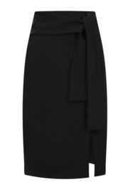 Banned  Bow Skirt Black