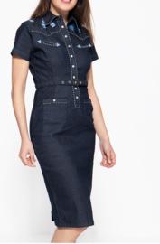 Queen Kerosine Western Jeans Jurk