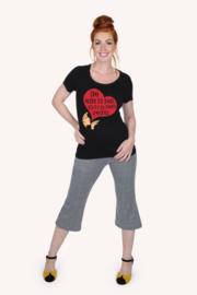 Margot Shirt Black Kiss