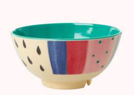Rice Melamine Bowl Stripe