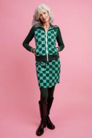 Tante Betsy Zipper Skirt Millie Green