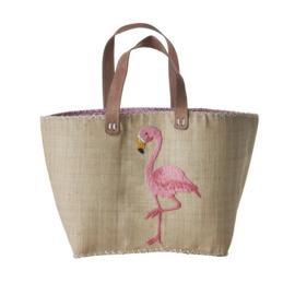 Rice Shopping bag Flamingo