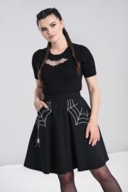 Hell Bunny Miss Muffet Mini Skirt