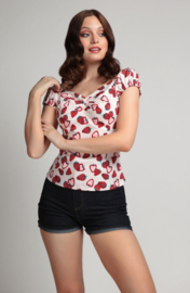 Collectif Dolores Top Strawberry