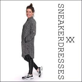 Sneaker dresses Button Dots
