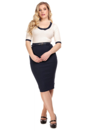 Collectif Dianne Pencil Skirt