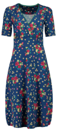 Tante Betsy Dress Auntie Midi Alpen Wiese Blue