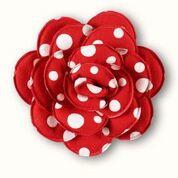 Margot Red Dotty Clip