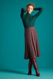 King Louie Juno Skirt Nippon Stripe