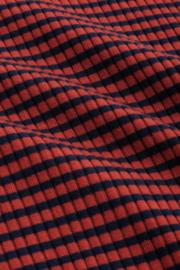King Louie Rollneck Top Tweedy Stripe
