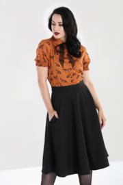 Hell Bunny Amelie skirt Black