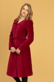 Tante Betsy Tante Betsy Kitty Coat Rib Cord Cerise