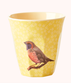 Rice Beker Bird  Yellow