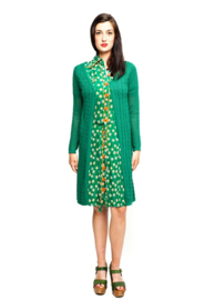 Tante Betsy Cardigan Lolly  long Green
