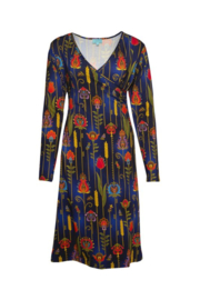 Lalamour Classic Wrap  Dress Folky