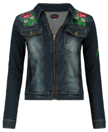 Tante Betsy Denim Jacket Zipper Patch