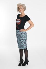 Margot Skirt Leopard Hips