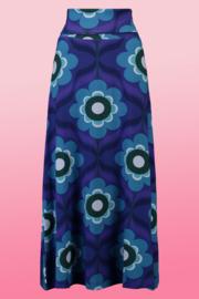 Tante Betsy Skirt Long Florrie Bleu