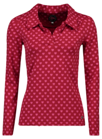 Tante Betsy Shirt Nellie Hearts Red