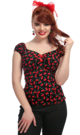 Collectif Dolores Small Cherry Top