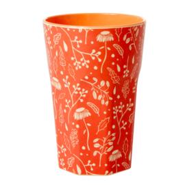 Rice Melamine Cup Fall Print